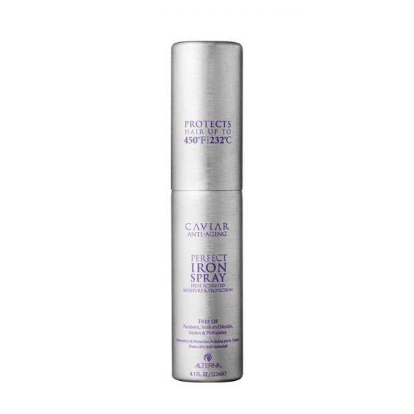 Spray de coiffage activé par la chaleur qui protège les cheveux jusqu'à 232°C (450°F); Enferme l'hydratation afin d'éliminer les frisottis et les pointes fourchues; Bloque l'humidité pour une coiffure qui dure.