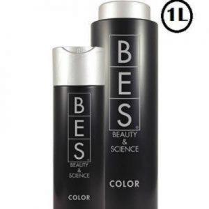 BES Shampoing Color Ultra doux, en particulier pour protéger les cheveux colorés. Avec filtre UV pour protéger la couleur.