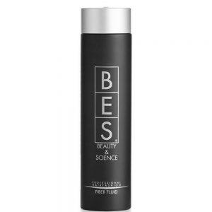 BES Fiber fluid Pour un maximum de volume et de corps. Idéal pour raviver les cheveux frisés ou raides sans craindre l'humidité. Donnant un fixage médium.