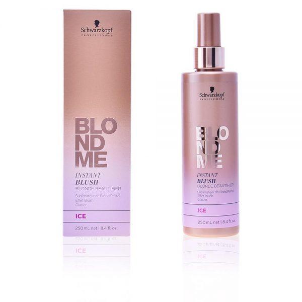 Sublimateur de blond pastel. Effet blush. Pour neutraliser des reflets jaunes ou obtenir un effet délicat cendré. Équilibre et renforce les cheveux grâce à une formule au PH acide et au complexe vitamine.