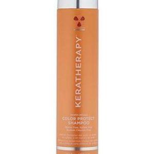 Le shampooing est formulé uniquement pour prolonger la vie des cheveux colorés et ceux avec reflet, en enlevant délicatement l'accumulation de résidus qui provoquent les cheveux ternes et sans vie. Il est formulé à base de graines de Framboise Rouge pressées à froid, un puissant antioxydant riche en oméga 3 et 6 acides gras essentiels, qui aide à préserver la couleur des cheveux et les protège contre les rayons UV nocifs et autres dommages causés par l'environnement.