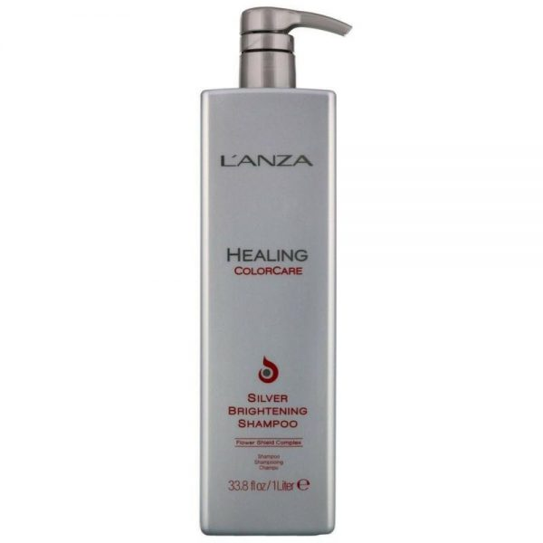 Le shampoing Healing Color Care Silver Brightening est idéal pour les cheveux gris, argentés et blonds. Il éliminer le doré et les tons chauds indésirables.