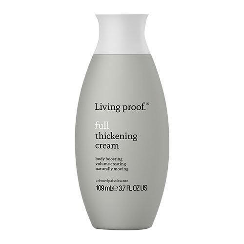 La crème épaississante Living Proof est une crème coiffante légère qui ajoute de l'épaisseur à chaque mèche pour aider les cheveux fins et plats à avoir l'air, à se sentir et à se comporter comme des cheveux naturellement pleins et épais.