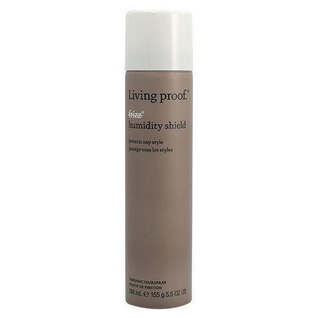 Prévient l'apparition de frisottis dans les cheveux coiffé et offre une protection six fois plus élevée contre l'humidité. Protection thermique et UV, élimination de l'électricité statique.
