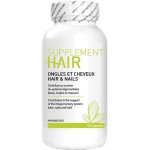 Suppléments capillaire Capilactif alimentaire pour cheveux et ongles