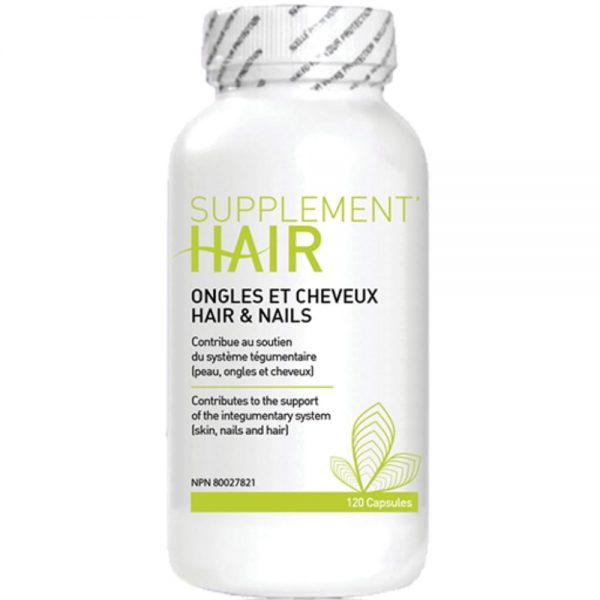 Suppléments alimentaire pour cheveux et ongles