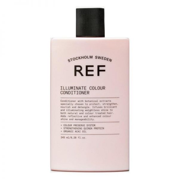 Revitalisant conçu pour protéger, renforcir, démêler et infuser une brillance extrême aux cheveux.