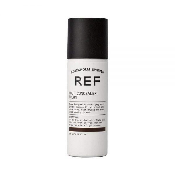 Spray conçu pour couvrir la repousse grise, temporairement avec un seul jet rapide. Séchage rapide et une tenue jusqu'au lavage.