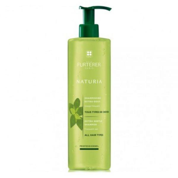 NATURIA shampoing extra-doux s'utilise aussi souvent que souhaité pour redonner douceur et légèreté à tous les types de cheveux tout en respectant parfaitement l'équilibre du cuir chevelu.