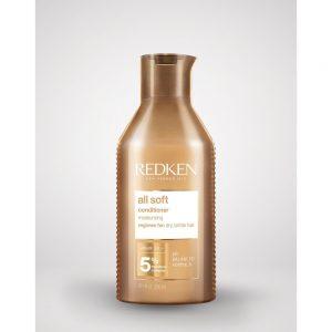 Après-shampoing All-Softde Redken, est un hydratant pour les cheveux secs et cassants. Avec une formule de PH balancé.