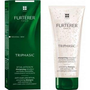 Shampoing fortifiant aux huiles essentielles Triphasic Rene Furterer 200ml