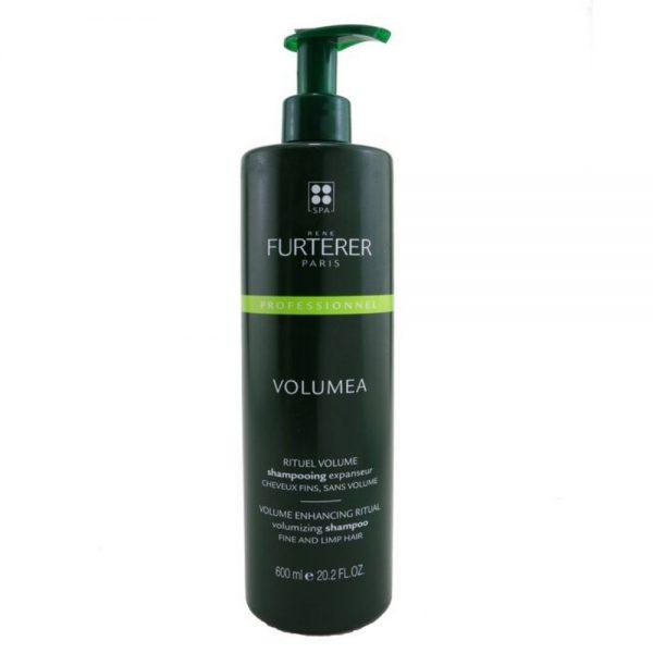 Shampoing expanseur VOLUMEA Rene Furterer, rituel volume pour les cheveux fins et sans volume. Il apporte du corps et de la texture aux cheveux grâce aux vertus de l'extrait de Caroube.