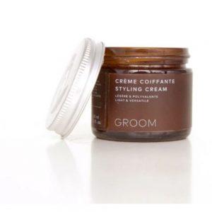 GROOM Crème Coiffante Styling Cream Légère&Polyvalente 60ml